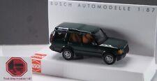 HO 1:87 Busch # 51901 - 1998-2004 Land Rover Discovery - Green