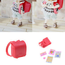 Cute Doll School Bag for Licca Doll Blyth Pullip Azone Momoko Doll Accessorie PL