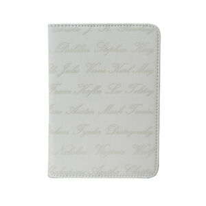 Book style Case Cover With Author Name for All 6inch ebook reader for pocketbook