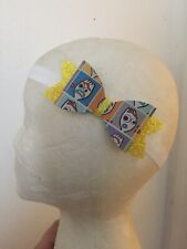 Disney~Toy Story~Forky~Synthetic Leather~Baby~Girl~Hair Bow~Headband #2