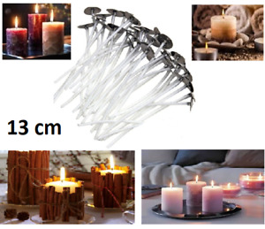 13cm Quality! Pre Wicks For Candle With Sustainers Candle Making Wax Variations