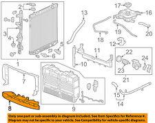 GM OEM Radiator-Air Inlet Baffle 23487157