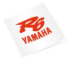 Yamaha R6 Racing Motorcycle Vinyl Sticker Decal