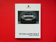 Prospekt / Buch / Katalog  Porsche 911 (996) Turbo und Turbo S   04/04