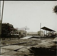 Brasile Brasil c1920 Treno Chemin Da Ferro Foto Stereo Placca Da Lente VR12b3