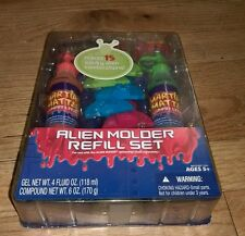 2008 Hasbro Alien Molder Refill Kit Molds Lunar Lava Meteor Mud Toy Martians new