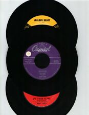 LES PAUL/MARY FORD 45 RPM NINE PK-HUMMINGBIRD + EIGHT RARE COLUMBIA 45S NM
