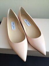 NIB $550 Jimmy Choo Alina Pointy Toe Flat size 7.5