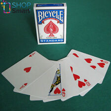 BICYCLE BLANK BACK STANDARD FACE WHITE MAGIC TRICKS CARDS DECK USPCC NEW
