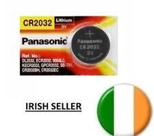 1x CR2032 DL2032 ECR2032 GPCR20 3V Lithium Coin Cell Batteries 1 pack PANASONIC