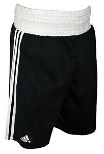 Adidas Base Boxing Shorts Black Adult Kids Training Short Mens Lightweight Pants
