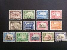 ADEN 1939  KGVI Complete Set Sc#16-27 (13) MLH OG