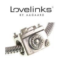 Genuine Lovelinks 925 argento Sterling Charm Bead della fotocamera, la fotografia foto