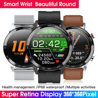 L16 Sport Smart Watch Men ECG+PPG Vibration Blood Pressure Heart Rate Monitor