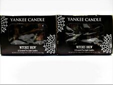 YANKEE CANDLE Scented Tea Light Candles, RED RASPBERRY, 2 Boxes, NEW x 24
