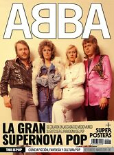 Latest issues!!! ABBA full special magazine 30 pages + poster feb/march 2019