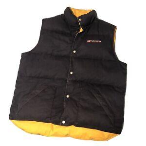RALPH LAUREN Polo Jeans Co. Men's Down Black Puffer Vest Size Xxl - Xl