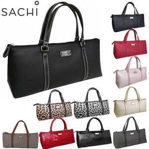 Sachi Insulated Wine Purse Cooler Bag Carrier Handbag Travel Party Camping