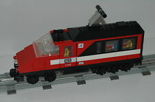 Lego 12V Eisenbahn TRAIN 7745 Lok Personenzug Endwaggon PASSENGER WAGON