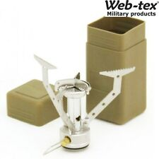 WEB-TEX ARMY WARRIOR COMPACT STOVE GAS FIELDCRAFT COOKER COOKING CAMPING CADET