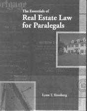 The Essentials of Real Estate Law for Paralegals (West Legal Studies Series)
