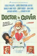 DOCTOR IN CLOVER orig one sheet movie poster SHIRLEY ANNE FIELD/LESLIE PHILLIPS