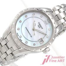 Tissot T-Trend Lady - Edelstahl -Automatik - Ø 34 mm - 10 Diamanten ca. 0,07 ct
