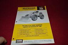 Michigan 35A Tractor Loader Dealers Brochure AMIL12