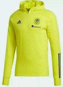 MLS Adidas Nashville SC Soccer 1/4-Zip Travel Jacket Slim-Fit 2XL NWT GL0098