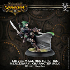 Warmachine: Mercenaries Eiryss, Mage Hunter of Ios Character Solo PIP 41001