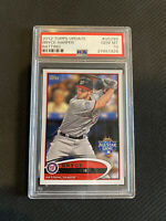 BRYCE HARPER 2012 Topps Update US183 Rookie Card PSA 10 Gem Mint - Phillies RC