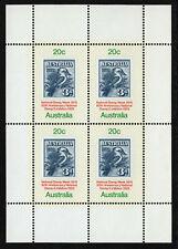 Australia #MiBl4 MNH S/S Kookaburra Stamp Week [SGMS695 687a]