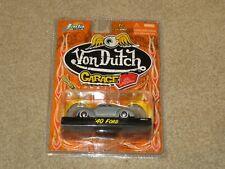 Jada Toys Von Dutch Garage 1940 40 Ford Raw Metal 1:64 MOC 2005