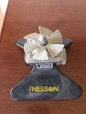 Vintage Nelson Sprinkler Lawn Sprinkler Water Black Square Spray Gets Corners