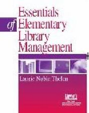 Essentials of Elementary School Library Management-ExLibrary