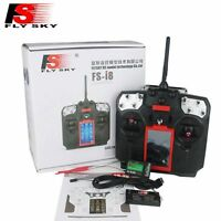 Flysky FS I8 Transmitter with FS IA10B receiver For fixed-wing Glider Helicopter