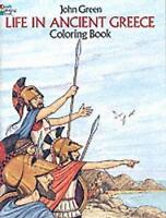 (Good)-Life in Ancient Greece (Dover History Coloring Book) (Paperback)-Appelbau