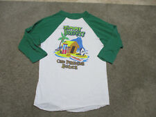 VINTAGE Jimmy Buffett One Particular Harbour Concert Shirt Adult Large Rock 1983
