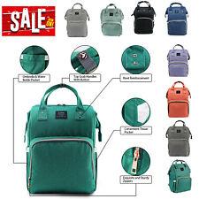 Mummy Mom Diaper Bag Backpack Large Capacity Maternity Baby Nappy Travel Handbag