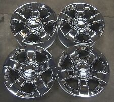 "Chevy Silverado Suburban Tahoe Avalanche Chrome 20"" Factory OEM Wheels Rims 5651"