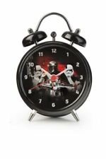 Licensed Star Wars Stormtrooper Black Mini Twinbell 3 Hand Analogue Alarm Clock