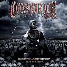 CD • Conspiracy Ad • Humanity = Destruction • Enhanced  like new