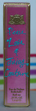 PEACE LOVE & JUICY COUTURE EDP .25OZ/7.4ML NEW IN BOX CUTE GIFT VALENTINES DAY