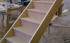 Kit form straight staircase