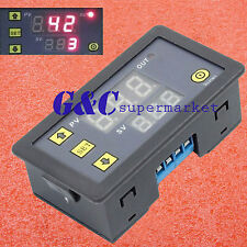 12V Timing Delay Relay Module Digital LED Dual Display 0-999 hours Cycle Timer