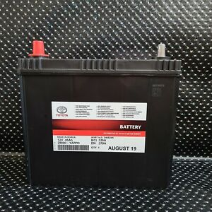 GENUINE LEXUS CT200H 12V BATTERY 45AH AUXILIARY BATTERY 28800-YZZPD FITS PRIUS