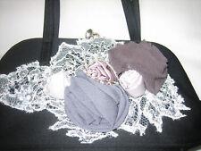 Karen Millen Black Applique Bag (matching dress listed)