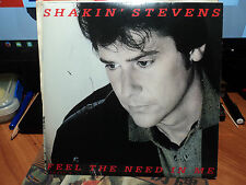 "Shakin' Stevens ""Feel The Need In Me"" 1988 EPIC UK 7"" PS 45rpm"