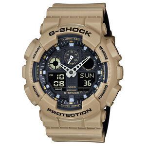 -NEW- Casio G-Shock Tan Magnetic Resistance Watch GA100L-8A