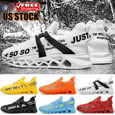 Men's JUST SO SO Running Sneakers Athletic Non-slip Casual Sports Walking Shoes